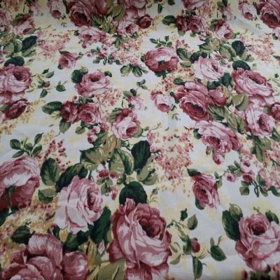 Englisch Leinen Rosen
