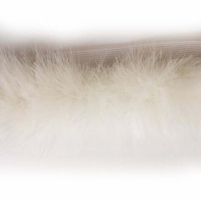 Pelzborte Nerz weiß 2,5 cm