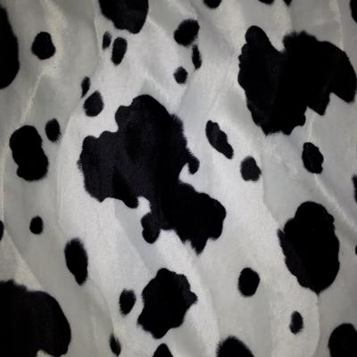 Fellimitat Kuh schwarz weiss