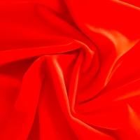 Baumwollsamt rot
