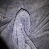 Alpenfleece jeansblau Baumwolle