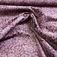 Trachten Baumwolle violett Blumen