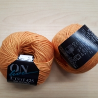 LINIE 425 SILCONA  orange mit Seide