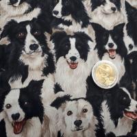 Patchworkstoff Hunde