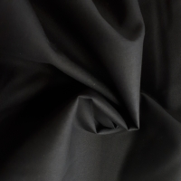 Patchworkstoff Baumwolle schwarz