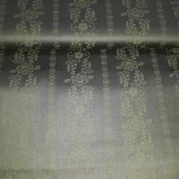Trachten Baumwolle dunkelgrün Streifen