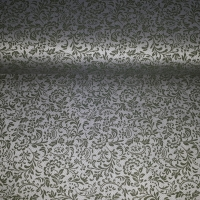 Trachten Baumwolle silber grün