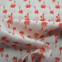 Baumwolle mit Palmen