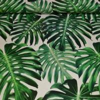 Hochwertiger Dekostoff Auihiay Palmenblätter Hawaiiblätter 280 cm breit