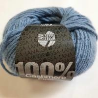 Cashmere 100% jeansblau