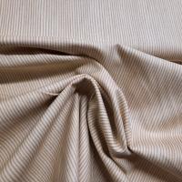 Basic Stoff Streifen beige