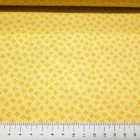 Coordinate Patchworkstoff kleine Blüten gelb