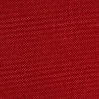 Robuster Taschen-und Bezugsstoff in Canvasoptik rot