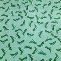 Patchworkstoff mint grün mit Pumps