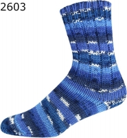 Relax Color ONline Sockenwolle 303 blau 8-fach