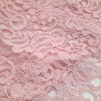 Spitze rosa mit beidseitigem Bogenrand
