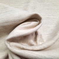 Leinen Viskose Baumwolle natur Streifenoptik