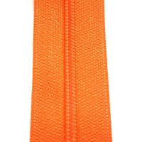 Endlos Reissverschluss orange 3 cm