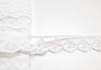 Wäschespitze 1,2 cm weiss