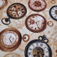 Taschenuhren beige braun Vintage