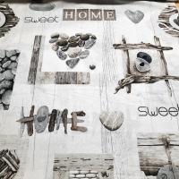 Home Sweet Home braun Rapport 60 cm