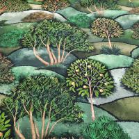 Dekostoff Bäume - 10%