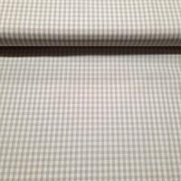 Karo Beige Weiß 3 mm