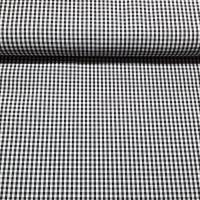 Karo Schwarz Weiß 3 mm