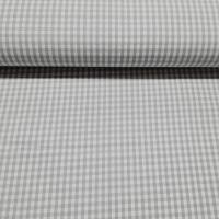 Karo Hellgrau Weiß 3 mm