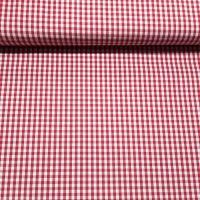 Karo Rot Weiß 3 mm