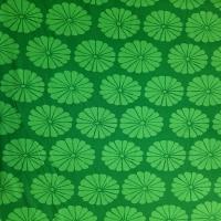 Kaffe Fassett dunkelgrün mit grünen Blumen