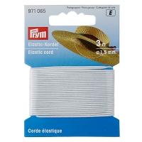 Elastic-Kordel 1,5mm Weiß