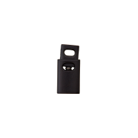 Kordelstopper Schwarz Durchlass 4mm