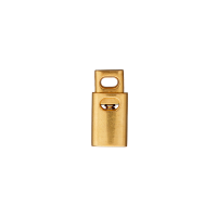 Kordelstopper Gold Durchlass 4mm