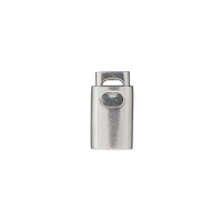 Kordelstopper Silber Durchlass 4mm