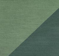 Viskosejersey Doublefaced salbei/smaragd