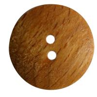 Standard Holzknopf caramel