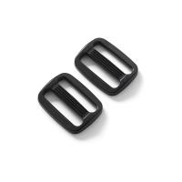 Leiterschnalle schwarz verschieden Größen