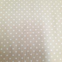 Baumwolle sand mit Punkten 2mm