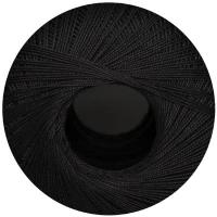 Filethäkelgarn schwarz 100g ca. 530m