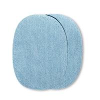 Jeans Patch hellblau