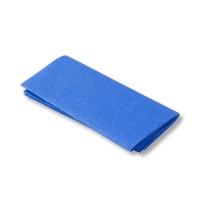 Flickstoff blau