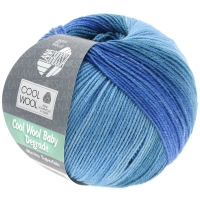 Cool Wool Baby Degradé blau