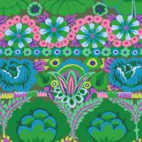 Kaffe Fassett farbenprächtiges florales Muster