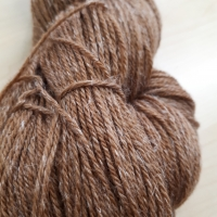 Slow Wool Lino haselnuss